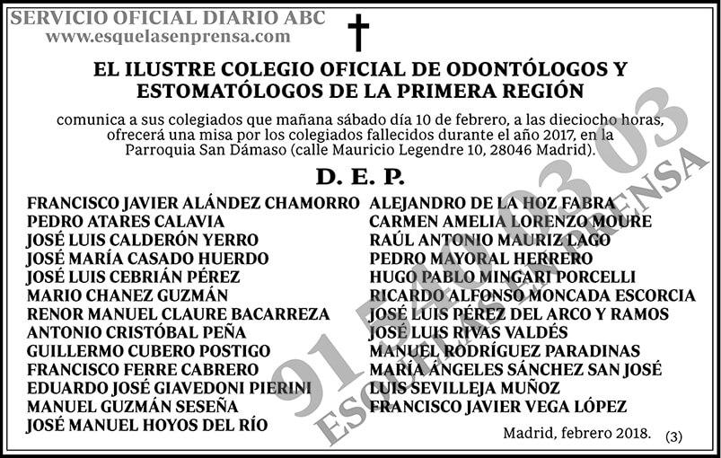 Ilustre Colegio Oficial de Odontólogos y Estomatólogos de la Primera Región